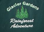 Glacier Gardens klingt ja noch plausibel, aber Rainforest doch eher erstaunlich . . .