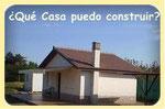Información sobre las casas que se permite construir en las parcelas.