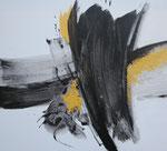 Ohne Titel Nr. 251.1, 100x80 cm, Acryl mit Tapetenkleister auf Leinwand, 360,-- €
