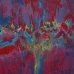 Ohne Titel Nr. 207.1, 80x80 cm, Acryl auf Leinwand, 320,-- €