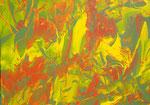 Ohne Titel Nr. 242, 100x70 cm, Acryl mit Tapetenkleister auf Leinwand, 340,-- €