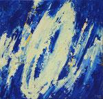 Ohne Titel Nr. 200, 50x50 cm, Acryl mit Spachteltechnik auf Leinwand, 200,-- €