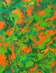 Ohne Titel Nr. 219, 80x100 cm, Acryl mit Spachteltechnik auf Leinwand, 360,-- €