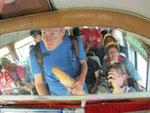 Sicht in den Bus