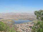 Sicht auf die Lagune (ähm Tümpel)