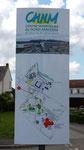Création du totem Hôpital Nord Mayenne