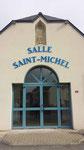 Création de lettrage pour la salle communale St Michel