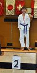 2. Rang, Kumite U12 -39kg, Keith Mader