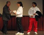 Preisübergabe an Laura De Pasquale