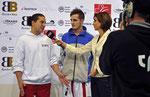 Interview Schweizer Sportfernsehen, Marco Luca