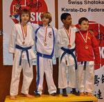 2. Rang, Kumite U12 -35kg, Keith Mader