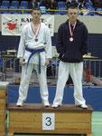 3. Rang, Kumite U18 -55kg, Chris Leisi