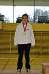 2. Rang, Kumite U14 +51 kg, Arlinda Musaj