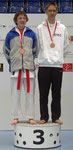 Chris Leisi, 3. Platz Kumite U18 -55 kg