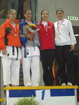 3. Rang, Kumite Elite -61kg, Laura De Pasquale
