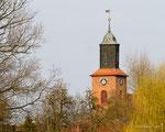 Rühstädter Impressionen  - Kirchturm -  Foto: Wolfgang Ewert