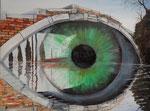 Venezianisches Auge - 60 x 45 / 2015
