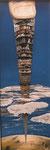torre babilonica - 35 x 100 / 1985