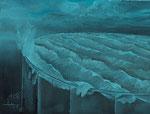 Sturm im Wasserglas 40 x 30 cm