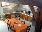 Gîte de l'étable - Salle de séjour côté cuisine