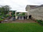 Le salon de jardin - Gîte de l'étable proche de Verdun