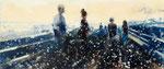 New horizons 02, 60x140 cm, 2020, Öl auf Leinwand