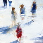 Date prisa_02, 60x60 cm, 2018, Öl auf Leinwand