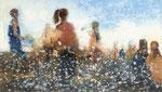 Light time, 80x140 cm, 2020, Öl auf Leinwand