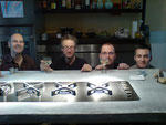 die 4 Jungs von der Kochinsel ...