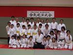 島田藤枝合気会演武会2010