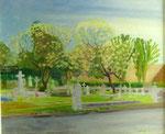 Le cimetière de Arue HCT 54x65 1985