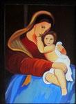 Maternité HST 44x33 2013 Vendu