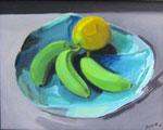 Abiu et bananes 27x35 HST 2014 Vendu