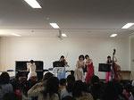 高槻市市立桜台こども園訪問コンサート 親子で聞いていただきました。