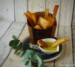 Aioli mit Fish ´n´Chips
