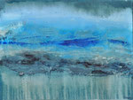 SAND   Acrylic, mix media on canvas   76x102cm