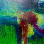 FLUX      Acrylic on canvas      76x76cm