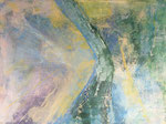 STREAM   Acrylic on canvas   76x102cm  (n/a)