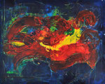 FRIENDS    Acrylic on canvas    80x100  (n/a)