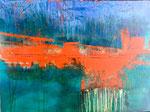 SHIFT  Acrylic on canvas    76x102cm