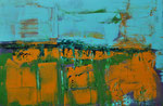 EROSION   Acrylic on canvas   50x76cm