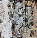 UNDER THE SURFACE     Acrylic on canvas   76x76cm