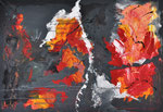 TRANSFORMATION  Acrylic on canvas  80x100cm (n/a)