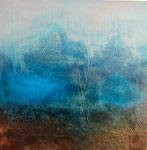 GLENOCHRY      Acrylic on canvas     76x76cm