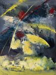 ROTATION     Acrylic on canvas    76x102cm  (sold)