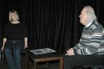 """Nicola Kaatz/Werner Behrmann in """"The Lesson"""""""