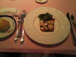 山芋と松茸とフォアグラかレバーのなんかよくわからないテリーヌ