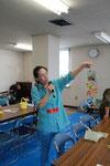 講師の菊池由紀子さん