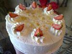 Erdbeersahne