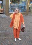 Ursula Laquay-Ihm vor dem Kameralamt in Waiblingen (0466)